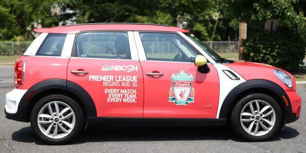Barclays Premier League Comes To New York City With Fleet Of 20 Mini Countryman Cars Via
