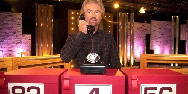 The Deal Or No Deal host says he doesn't have a TV