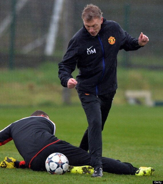 David Moyes Humiliates Wayne Rooney In Manchester United Training