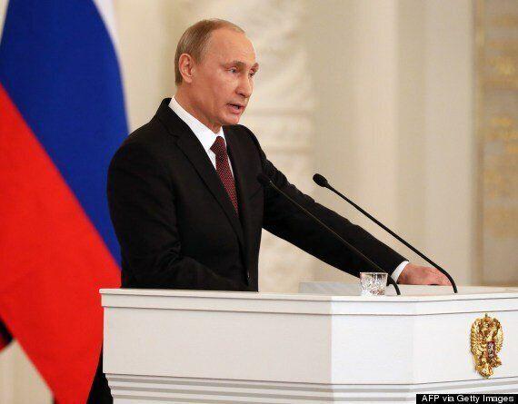 Putin Blasts West's 'Baffling, Primitive And Blatant' Posturing Over