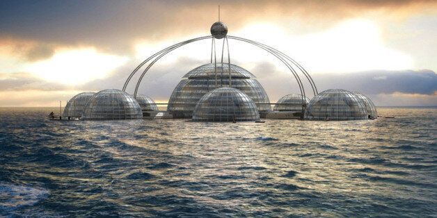 Phil Pauley's 'Sub Biosphere 2' Is The Underwater City Of Your