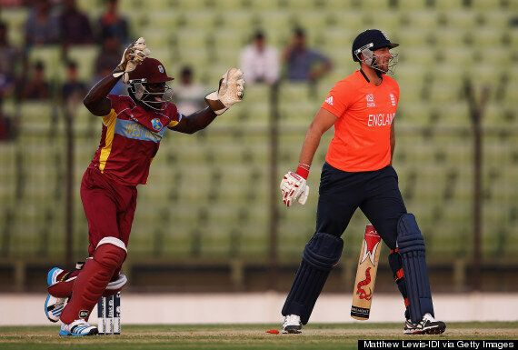 England Thrashed By West Indies In World T20 Warm-Up