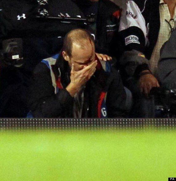 Andros Townsend Leaves Photographer Injured