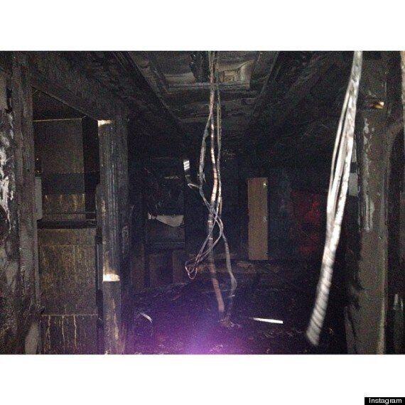 Miley Cyrus's 'Bangerz' Tour Bus Sets On Fire