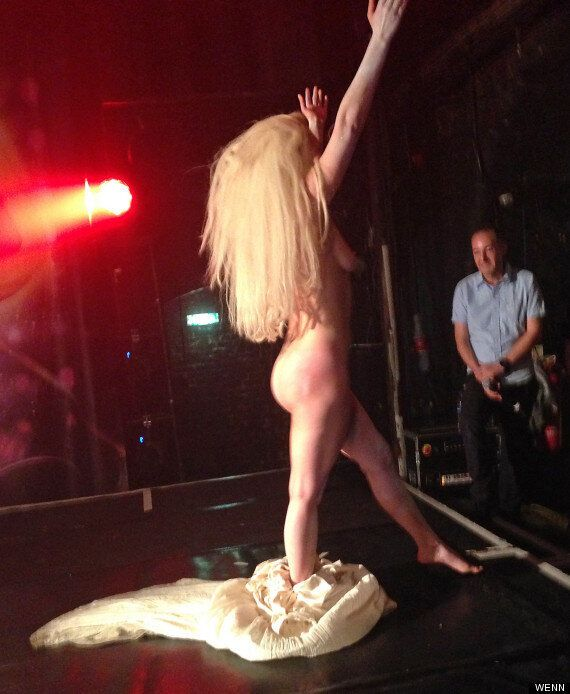 Lady Gaga Naked: Singer Bares All On Stage At G-A-Y And Unveils Brand New Song, 'Venus' (LISTEN,