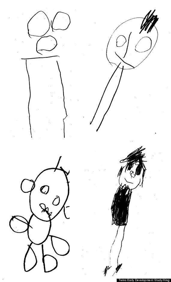 How The Quality Of Your Child's Stick Drawings Are Linked