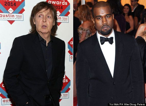 Kanye West And Paul McCartney 'Collaborating On New Music'
