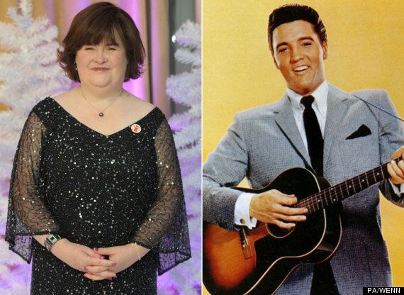 Susan Boyle To Duet With Elvis Presley On Christmas