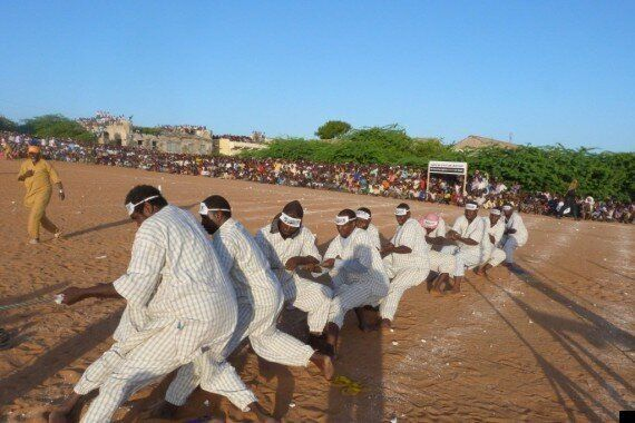 Al Shabab's Egg And Spoon Race, Tug Of War Revealed In Bizarre Photos