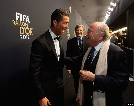 Real Madrid Ask Sepp Blatter To Apologise For Cristiano Ronaldo