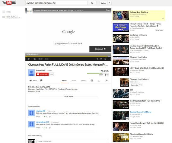 YouTube and Piracy - Follow the