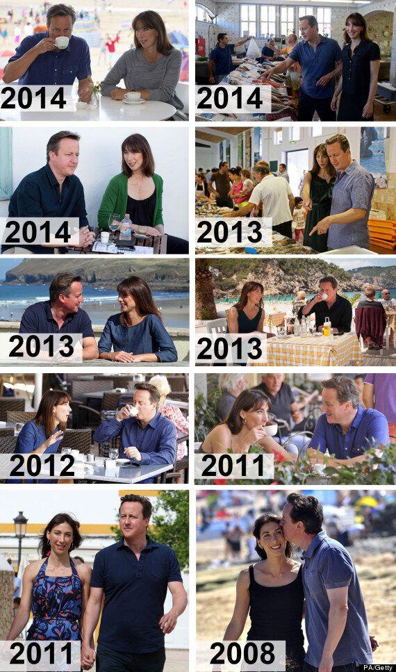 David Cameron Has The Most Predictable Holiday Wardrobe