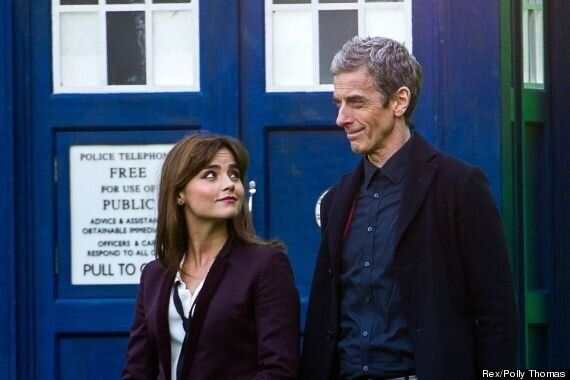 'Doctor Who' Series 8: New Monster On Set With Peter Capaldi And Jenna Coleman Is Strangest Yet