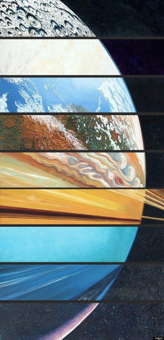 All The Planets, Aligned In One Beautiful