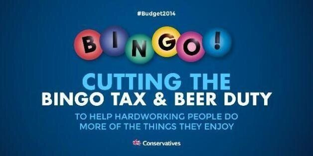 Budget 2014 Bingo Tweet From Grant Shapps Sends Twitter Into