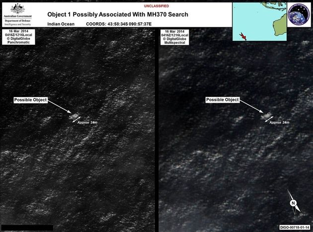 Missing Malaysia Plane: Australian Sighting Has Signs 'This May Be The Wreckage' Expert