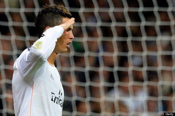 Cristiano Ronaldo Mocks Sepp Blatter With Celebration