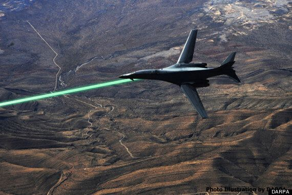 Drone Mounted Lasers Are Being Developed By DARPA For The US