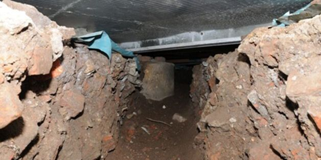 Salford Cash Machine Thieves Dig 50 Foot Tunnel To Steal From Tesco