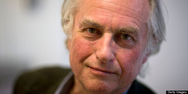 Richard Dawkins Author and evolutionary biologist, poses for a portrait at the Oxford Literary Festival,...