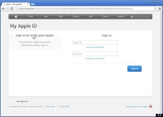 EA Phishing Attack Dupes iTunes Users To Input