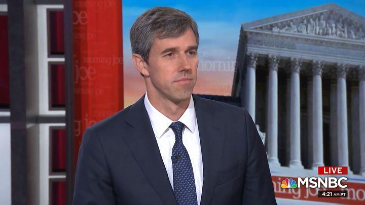 "Beto O'Rourke (D-Tx.) warned Thursday that electing former Vice President Joe Biden in 2020 would be a detrimental ""return to"
