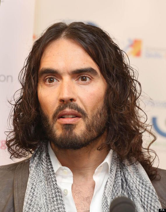 Russell Brand Slams Press Coverage Of Mick Jagger's Grief, Following Death Of L'Wren