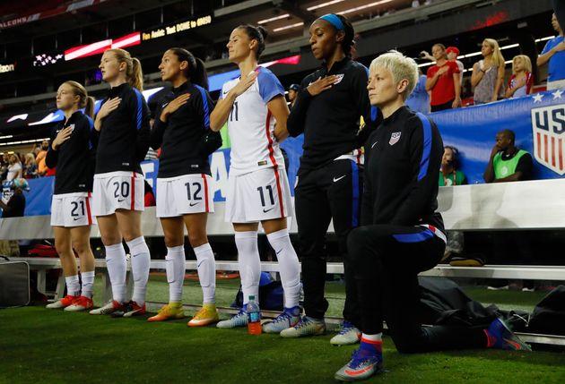 Avant le match États-Unis - Chili, pourquoi Megan Rapinoe ne chante pas l'hymne