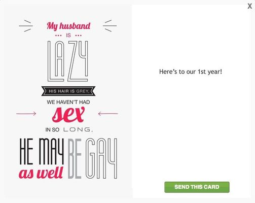 There Are Now Greeting Cards For Cheating Spouses  (Yes, Really