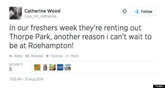 Roehampton University Rents Out Thorpe Park For Lucky