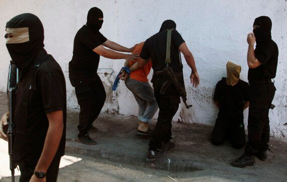 Hamas Shoots Dead 18 Palestinians Accused Of Spying For