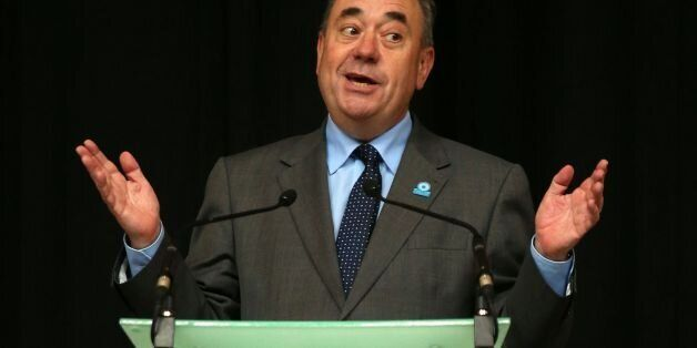 File photo dated 15/08/14 of Alex Salmond who has said Scotland would be the wealthiest country in the...