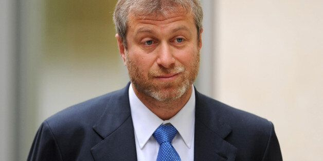 File photo dated 31/10/2011 of Chelsea FC owner Roman