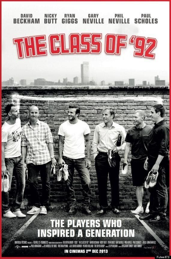 Manchester United Class Of '92 Stars Of New Film