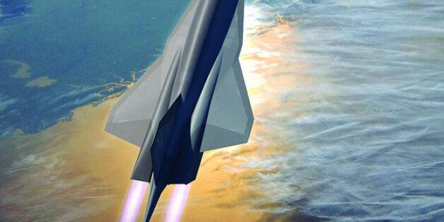 'SR-72' Unmanned Spy Plane Could Reach 3,600