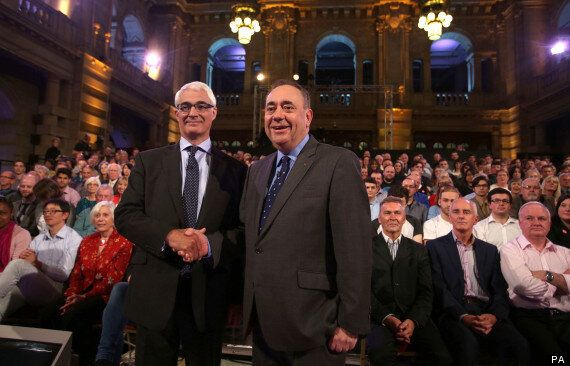 Alex Salmond 'Wins' Second Scottish Independence Debate Against Alistair Darling