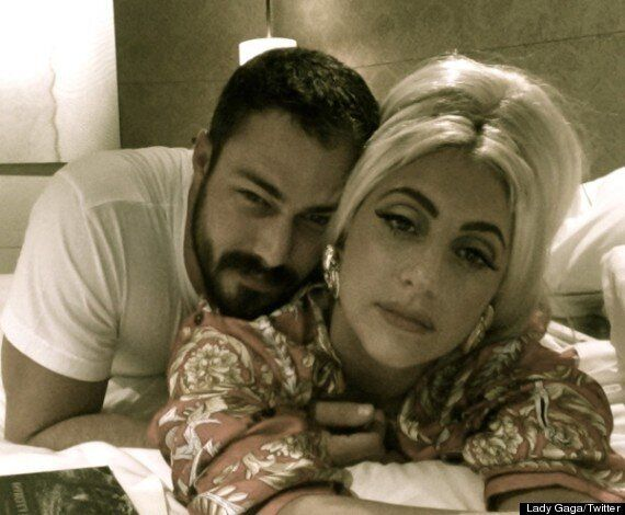 Lady Gaga And Boyfriend Taylor Kinney End Split Rumours With A Kiss At YouTube Music Awards