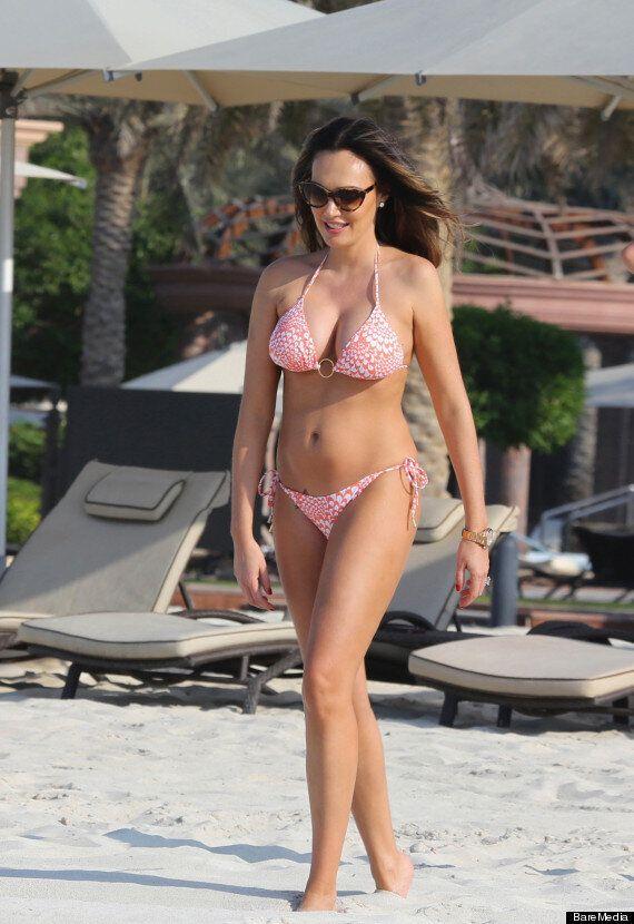 Tamara Ecclestone Bares Baby Bump As She Dons Bikini In Abu Dhabi