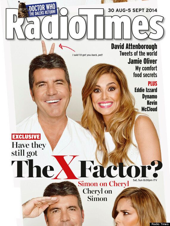 Simon Cowell Reveals Why He Sacked Cheryl Cole From 'The X Factor'... Those Purple Trousers Were To