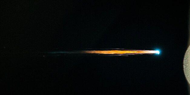 Astronauts Watch Spacecraft Burn Up In Earth's Atmosphere