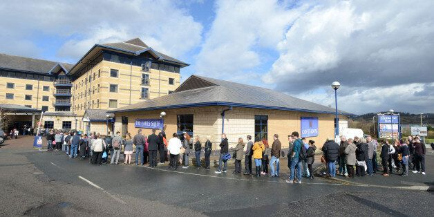 Thousands Queue For Hours For Just 40 Aldi Jobs