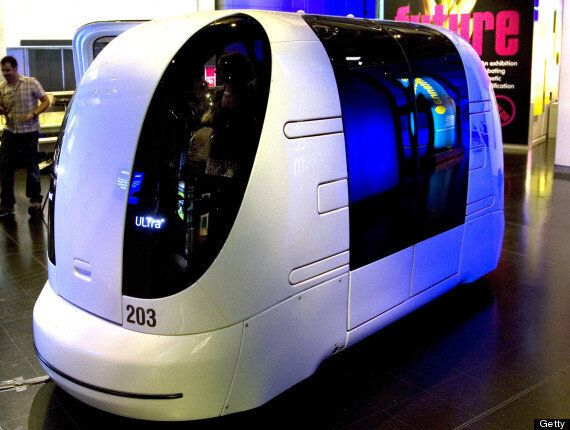 Milton Keynes Driverless Pods Could Revolutionise Town Public