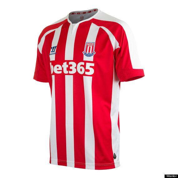 Stoke City's Warrior 2014-15 Kits Revealed