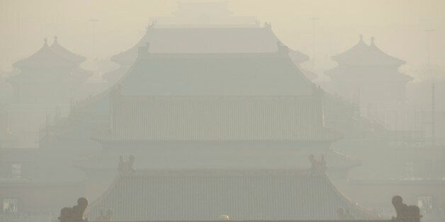 China has ongoing pollution problems, pictured is