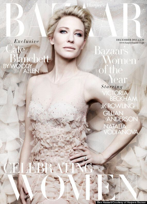 Woody Allen And Cate Blanchett Chat Casting Couch, Children And Self-Consciousness For December Issue...