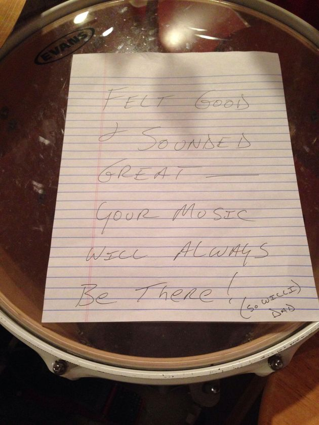 Dad Leaves Heartfelt Note For His Son After Breakup