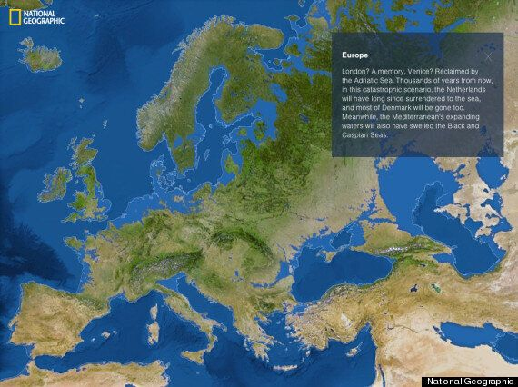Rising Sea Levels Threaten London, Europe's Capitals