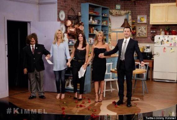 'Friends' Reunion Alert! Jennifer Aniston, Courteney Cox And Lisa Kudrow Star In New Sketch On Jimmy...