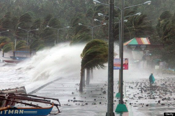 Super Typhoon Haiyan Leaves At Least Four Dead In The