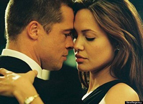 Brad Pitt And Angelina Jolie Married: 17 Film Star Couples Who Found Love On